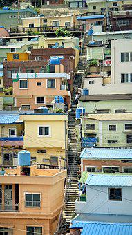 Busan, Gamcheon, Moon Village, Cultural Village, Home