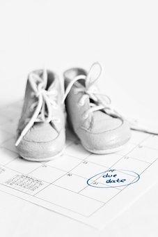 Due, Date, Calendar, Pregnant, Pregnancy, Expecting