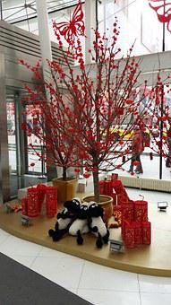China, Chinese, New Year, Asia, Festival, 2015, Animal