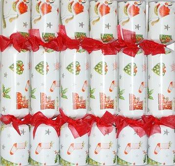Christmas, Crackers, Festive, Holiday, Celebration