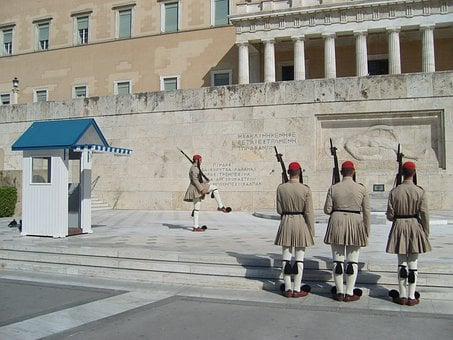 Guard, Changing Of The Guard, Greece, Athens, Uniform