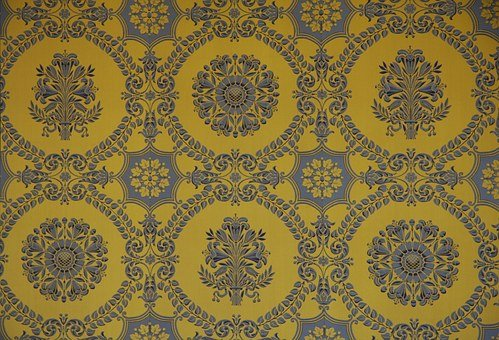 Tapestry, Versailles, Pattern, Floral, Wall, Hanging