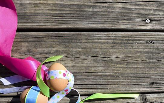 Eggs, Happy, Easter, Spring, Holiday, Celebration