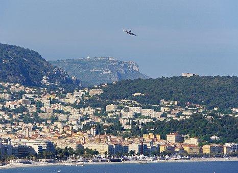 Approach, Nice, Old Town, Beach, Monaco, Hausberg