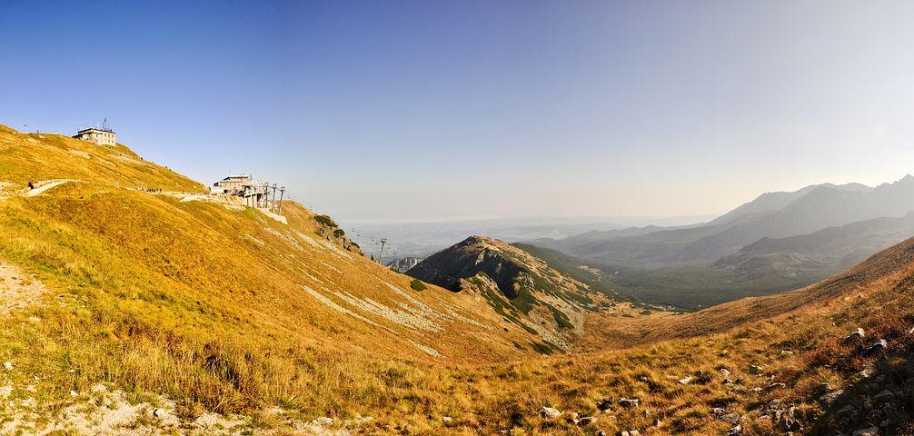 Tatry, Kasprowy Wierch, Landscape, Polish Tatras
