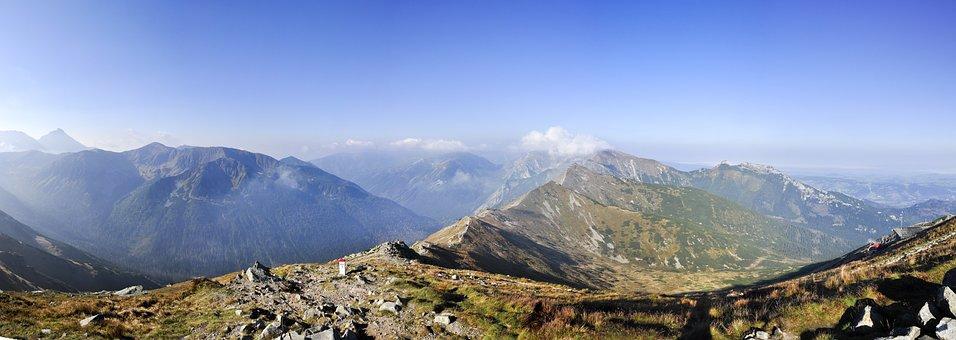Tatry, Kasprowy Wierch, Landscape, The High Tatras
