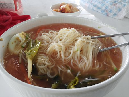 Kongguksu, Noodles, Heat Cast, Summer