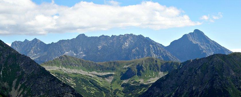 Mountains, Tatry, The High Tatras, Landscape, Krivan
