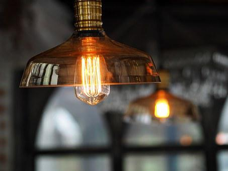 Lamp, Antique Lamps, Bulbs, Antique Lamp