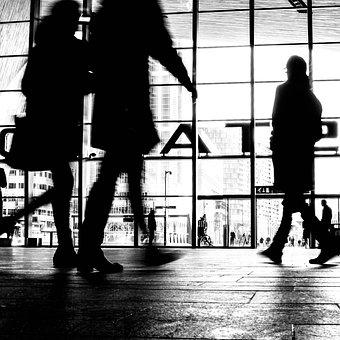 People, Legs, Walk, Travel, Station, Rotterdam