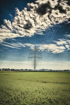 Current, Line, Energy, Mast, Steel, Power Line, Lines