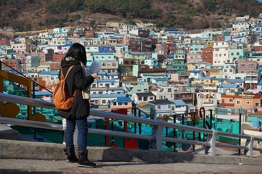 Lost Tourism, Travel, Gamcheon, Landscape, Busan