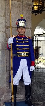 Quito, Guard, Presidential, Uniform, Military, Guardian