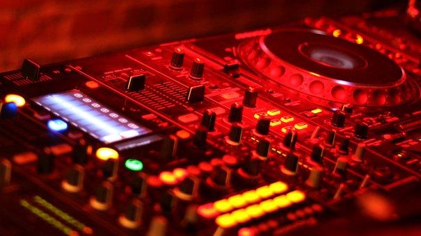 Mixer, Device, Audio, Mix, Scratching, Nightclub