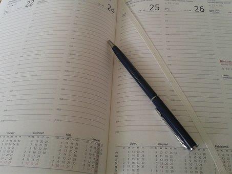 Calendar, Quotation, Organizer, Schedule, Planning