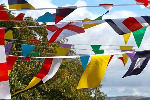 Bunting, Banner, Celebration, Decoration, Flag, Party