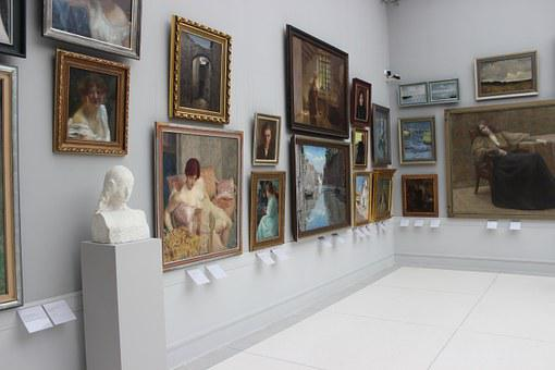 Painting, Picture Gallery, Works Of Art