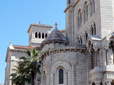 Monaco, Cathedral, Religion, Monument, Apse