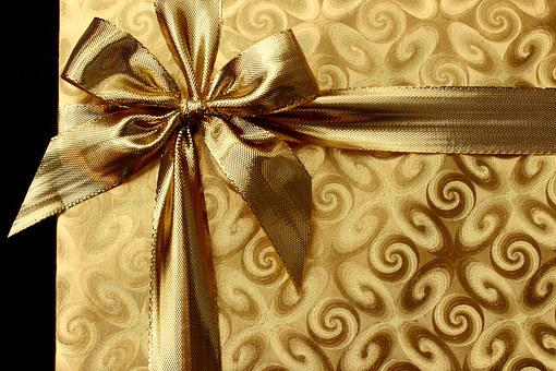 Gift, Box, Present, Background, Recreation, Ribbon