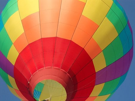 Hot Air Balloon, Colorful, Rise, Travel, Freedom