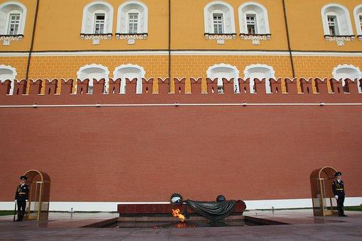 Sentry, Security Guard, Kremlin, Post, Officer, Grave