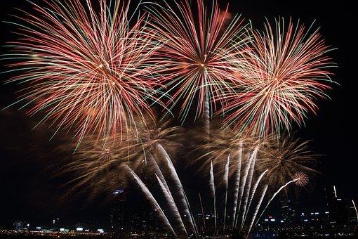Seoul International Fireworks Festival, The Night Sky