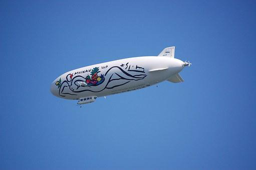 Zeppelin, Lake Constance, Fly, Airship, Float, Sky