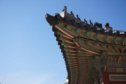 Gyeongbuk Palace, Palace, Palaces, Priceless, Sky