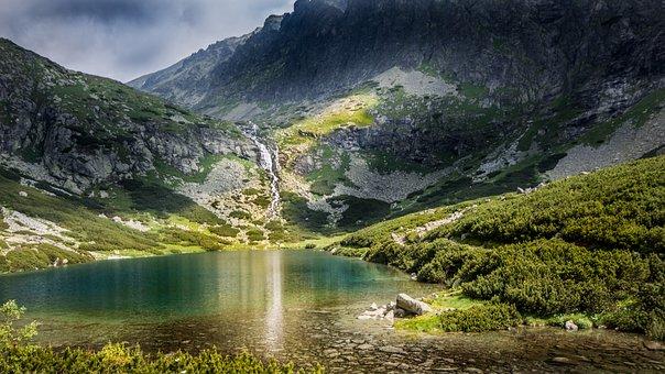 Mountains, High Tatras, Slovakia, Storm