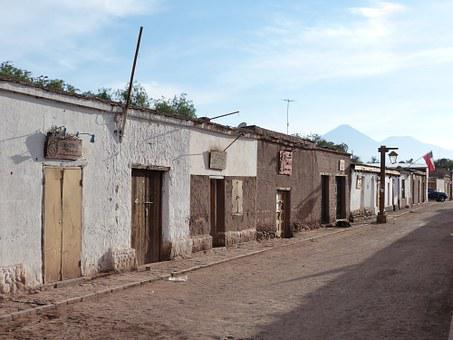 Chile, South America, Atacama, Desert, Dry