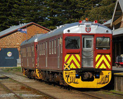 Victor Harbour, Train, Railway, Station, Track