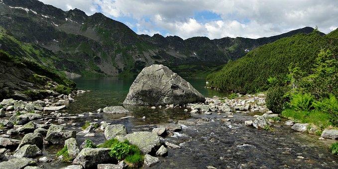 Tatry, Mountains, Dolina Pięciu Stawów Polskich