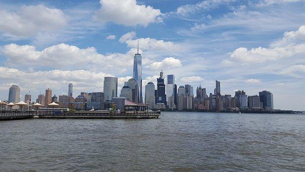 Manhattan, World Trade Center, Hudson River