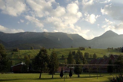 Slovakia, Zdiar, Village, High Tatras, Countryside