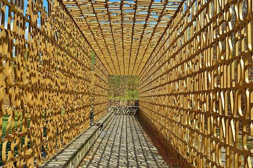 Fence, Access, Religion, Christian Garden, Words