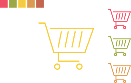 Cart, Icon, Flat, Buy, Symbol, Sign, Online, Purchase