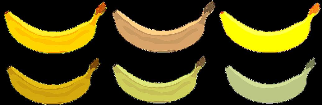 Banana, Fruit, Bananas, Food, Illustration, Pop Art