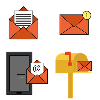 Email, Email Icons, Mail, Message, Communication