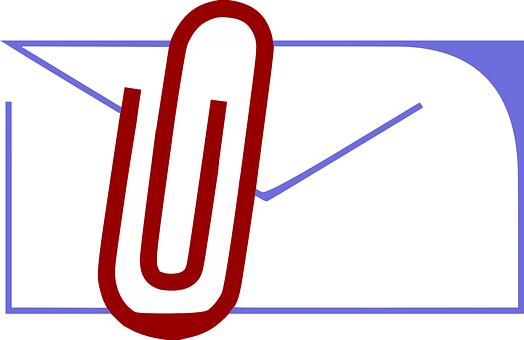 Attachment, Envelope, Clip, Paper Clip, Mail, Email
