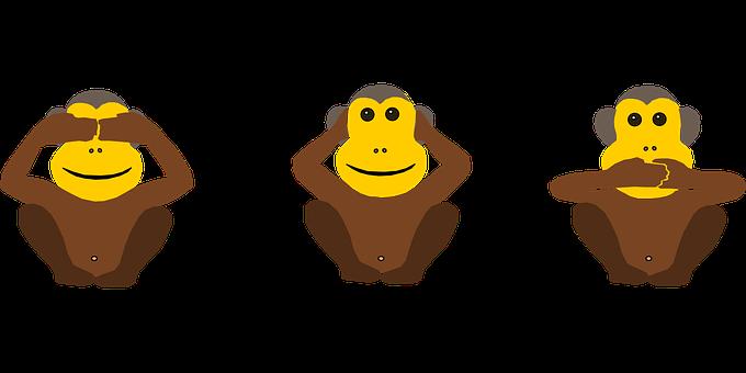 Ape, Blind, Deaf, Dumb, Troika, Policy