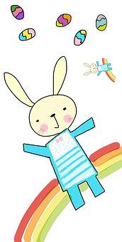 Bunny, Rabbit, Easter Egg, Easter Bunny, Easter