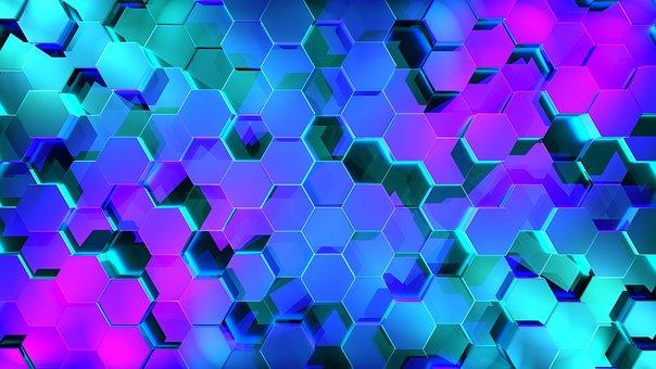 Hexagon, 3D, Combs, Honeycomb Pattern