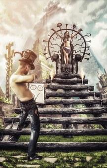 7so0o, Cylinder, Ladder, Ritual, Sacrifice, Pyramid