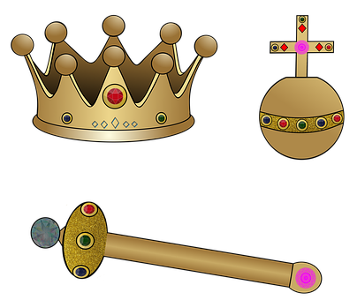Monarchy, Crown, Crown Jewels, Treasure, Gold, King