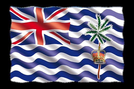 International, Flag, British Territory, Indian Ocean