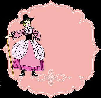 Vintage, Girl, Woman, Female, Rosa, Color Pink, Pastora