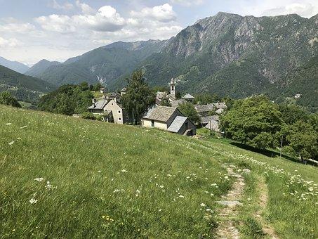Rasa, Alpine Route, Alps, Alpine, Adventure, Walk, Sky