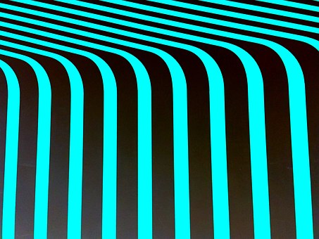 Geometric, Perception, Aqua, Turquoise