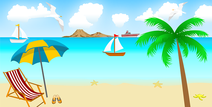 Beach, Ship, Boat, Water, Sky, Fishing, Ocean, Nature