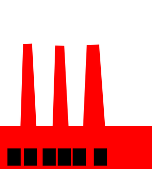 Factory, Smoke, Stack, Chimneys, Pollution